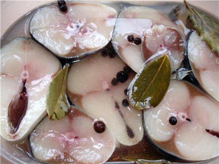 Маринованная из рыбы рецепты
