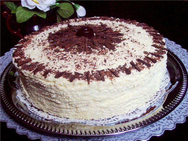 Рецепты тортов творожных